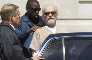 """""""I'm just another one of the prophets that went to jail for the Gospel,"""" Alamo called to reporters as U.S. marshals escorted him back to jail."""